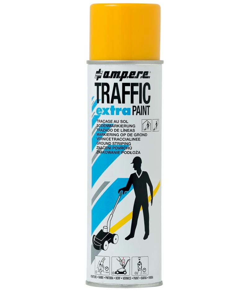 Bodenmarkierfarbe TRAFFIC Extra, gelb, 12 x 500ml netto