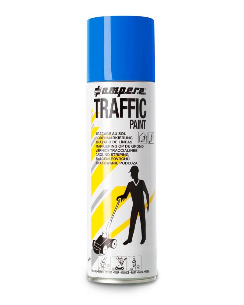Bodenmarkierfarbe TRAFFIC, blau, 12 x 500ml netto